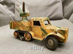 Marklin No. 8194 Military Wehrmacht Army Anti-Aircraft Gun Truck, Germany 1937/8