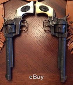 Marshal Long Barrel Guns With Tan Hostler