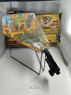 Marx Automatic Arcade Shooting Gallery Tin Toy Gun 1950's With Box / BBS