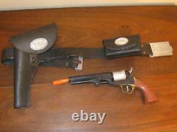 Marx CSA Cap Gun Holster and Cartridge Box