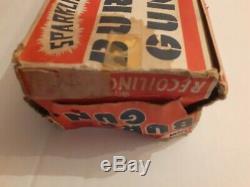 Marx Electric Burp Gun Vintage Toy Boxed Rare