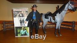 Marx Johnny West Kirk Douglas Last Train From Gun Hill 1/6 12 custom horse