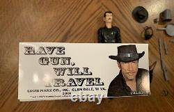 Marx Johnny West TV Western Hero Paladin Have Gun Will Travel Box LAST ONE