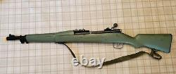 Marx M1 1960s Gun with Strap Rare Orange Barrel Plug