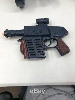 Marx Rat A Tat 3 Gun Lot Tommy Gun Machine Gun M240 Pistol