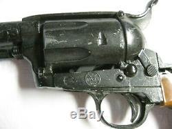 Marx Thundergun Cap Gun & Holster Working Perfectly Includes Opened Cap Box