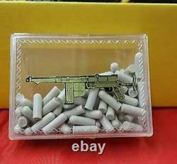 Masutaya 7220 Vintage Toy Gun SCHMEISSER MT-36 with box 1971 from Japan Novelty