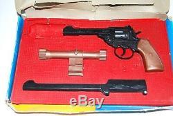 Matt Helm Secret Agent Spy 007 Toy Cap Gun Set Extremely Rare