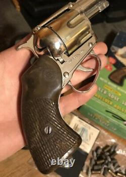 Mattel Official Detective Snub-Nose. 38 Shootin-Shell Cap Gun Mattys Funday