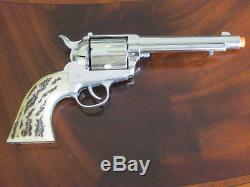 Mattel Shootin' Shell Colt 45.45 Cap Gun (The Big One) Complete Works Great