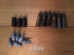 Mattel Shootin Shell Fanner cap gun holster knife bullets