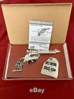Mattel Shootin Shell Fanner cap gun in box near mint