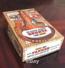 Mattel Shootin' Shell Frontier Cap Gun & Holster Set withBandoleer & Box