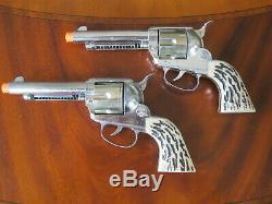 Mattel Shootin' Shell Frontier Double Holster Cap Gun Set