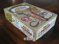 Mattel Shootin' Shell Frontier Single Holster Cap Gun Set Original Box Near Mint
