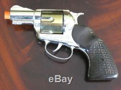 Mattel Shootin' Shell Snub-Nose. 38 Cap Gun Detective Set withBox Excellent Cond