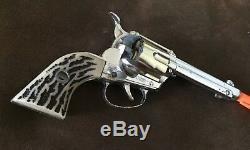Mattel Shootin-shell Fanner Cap-gun And Holster Set