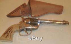 Mattel Swivelshot Trick Holster Fanner 50 Cap Gun-1958-Near Mint/Mint with Box