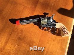 Mattel Swivelshot Trick Holster Fanner 50 Cap Gun-1958 with Box