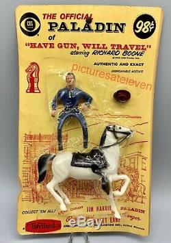 Mini Hartland Paladin Have Gun Will Travel Sealed Horse Rider Tv Richard Boone