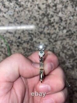 Miniature Cap Gun Collectible Pistol Keychain Charm