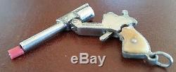 Miniature Fisher Firesure Marked Pat. 1794364 JMF Co Plastic Grips 2mm Cap gun