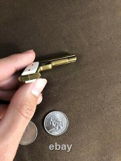 Miniature Gun Fob Gun Fob Pistol Berloque Gun Tom Weston 2mm