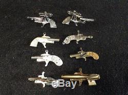 Miniature Gun Pistol Japan -austrian Pin-fire Collection 8 Guns