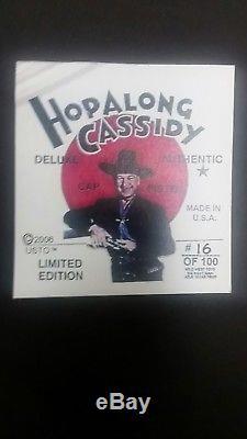 Mint Hopalong Cassidy cap gun
