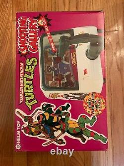 Mint Vintage 1988 Teenage Mutant Ninja Turtles Shooting Gallery Helm Toy No. 41