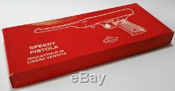 Mondial Oklahoma Speedy Pistola Giocattolo Toy Gun Vintage'80 New In Box Rara
