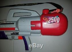 NICE Vintage Larami Super Soaker HUGE Squirt Gun Toy CPS 2500 Water Cannon Boat