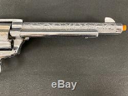 NICHOLS STALLION 45 Mark II Toy Cap Gun Work Great EUC