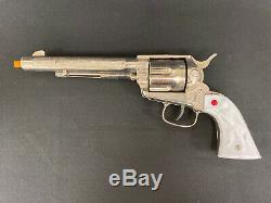 NICHOLS STALLION 45 Mark I Pasadena Toy Cap Gun Works Excellent