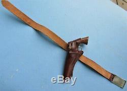 Nichols 1960's Model 61 CIVIL War Chromed Cap Gun And Holster Set