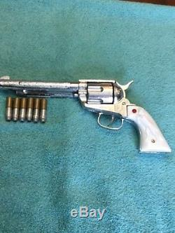 Nichols Pasadena Stallion 45 Cap Gun with (6) Aluminum Bullets