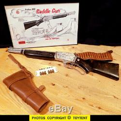 Nichols Stallion 300 Saddle Gun cap rifle with ejector action SEE MOVIE