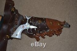 Nichols Stallion 45 Mark 2 II Cosplay Holsters Toy Cap Gun Bullets FREE SHIP