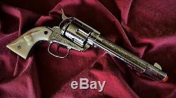 Nichols Stallion 45 toy cap gun MK I, second generation, Pasadena model