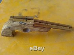 Nostalgia gun custom wooden toy
