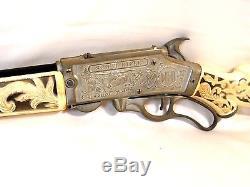 Original 1950's Hubley Scout Rifle Cap Gun Elm