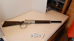Original 1959 HUBLEY'The Rifleman' Winchester Flip Special Toy Rifle Cap Gun