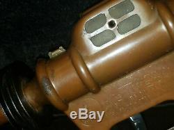 Original Buck Rogers Disintegrator Pistol Daisy 25th Century Ray Gun Metal Toy