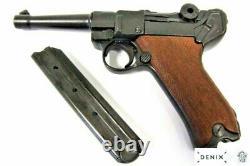 P08 Luger gun by Denix wooden handle