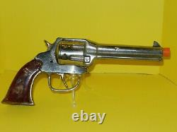 Polished Kilgore Ranger / Hi Yo Silver Cast Iron Cap Gun. NICE! 1st Model