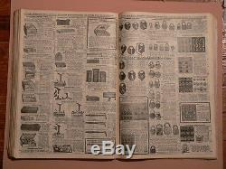 RARE 1905 CHRISTMAS SANTA CLAUS BUTLER BROS CATALOG Toys Locks Guns Jacknives &