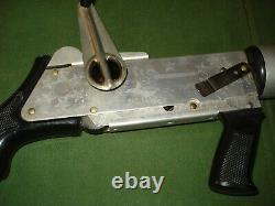 RARE 1960'S TOY BUDDY L MACHINE GUN TOMMY GUN CAP GUN, with BOX, WORKS