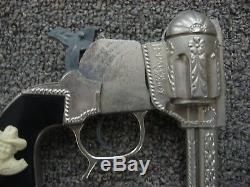 RARE Dummy Hopalong Cassidy Toy Cap Gun George Schmidt 1950-55 Era