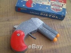 RARE Founders CASE of 36 Secret Agent Hideaway Pistol cap gun Hamilton 2000