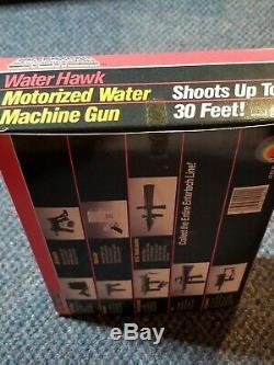 RARE MIB Vintage New Entertech WH-88 Water Hawk Motorized TOY Squirt Gun